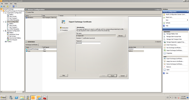 100 Certificates For Exchange 2010 Using Sbs2008 To