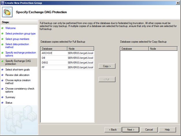 exchange 2017 dag resume database copy