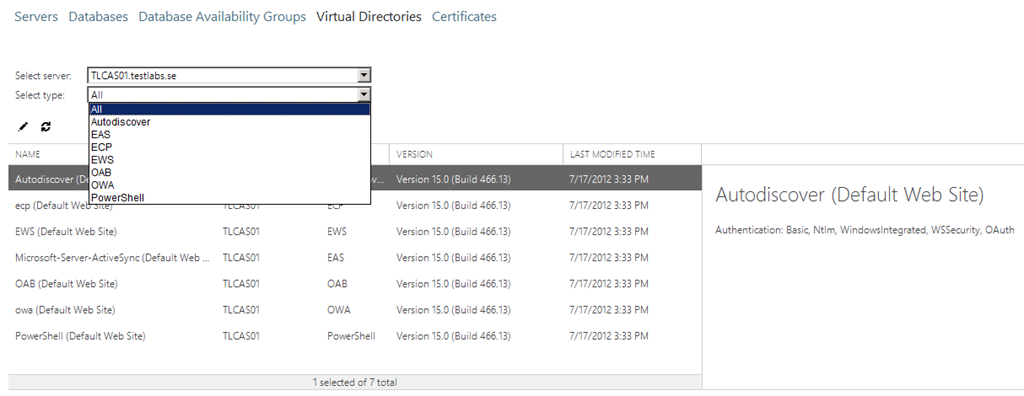 Exchange Server 2013 Preview – Part 3: How to configure site